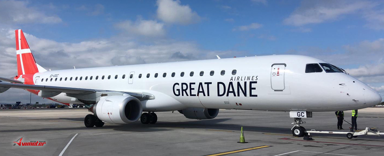 Embraer Welcomes Great Dane Airlines to the E-Jets Family of Operators