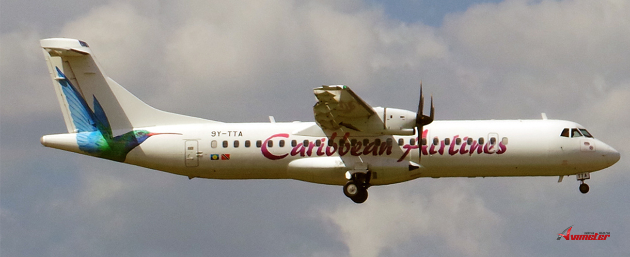 Caribbean Airlines: Update On ATR Aircraft 9Y-TTA