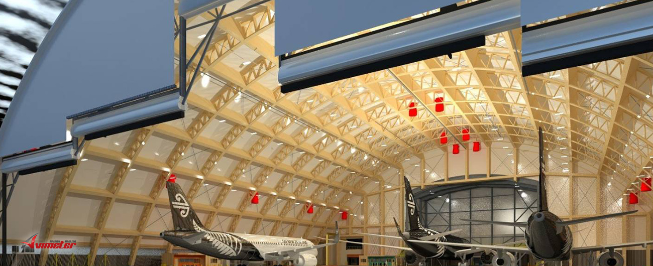 Air New Zealand to build world's largest single arch timber aircraft hangar