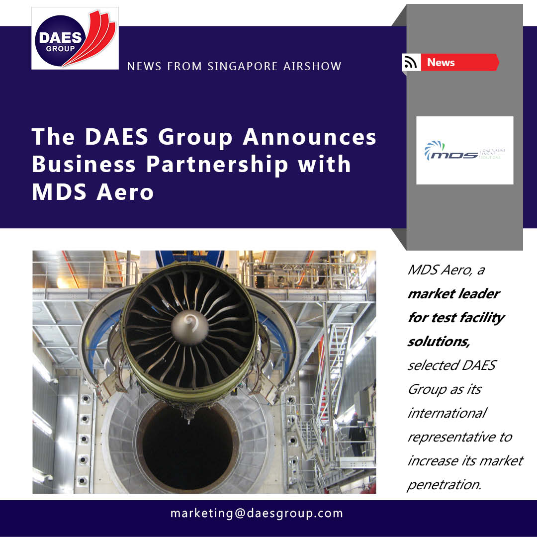 The DAES Group Announces New Business Partnership at Singapore Airshow 2020