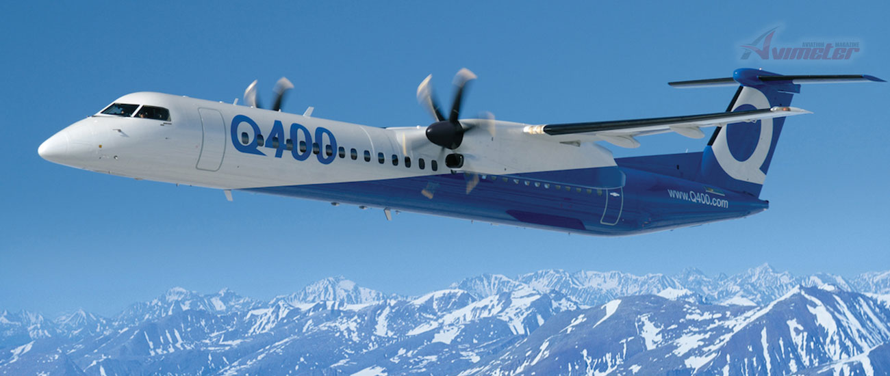 Bombardier And Conair Announce Purchase Agreement For Six Q400