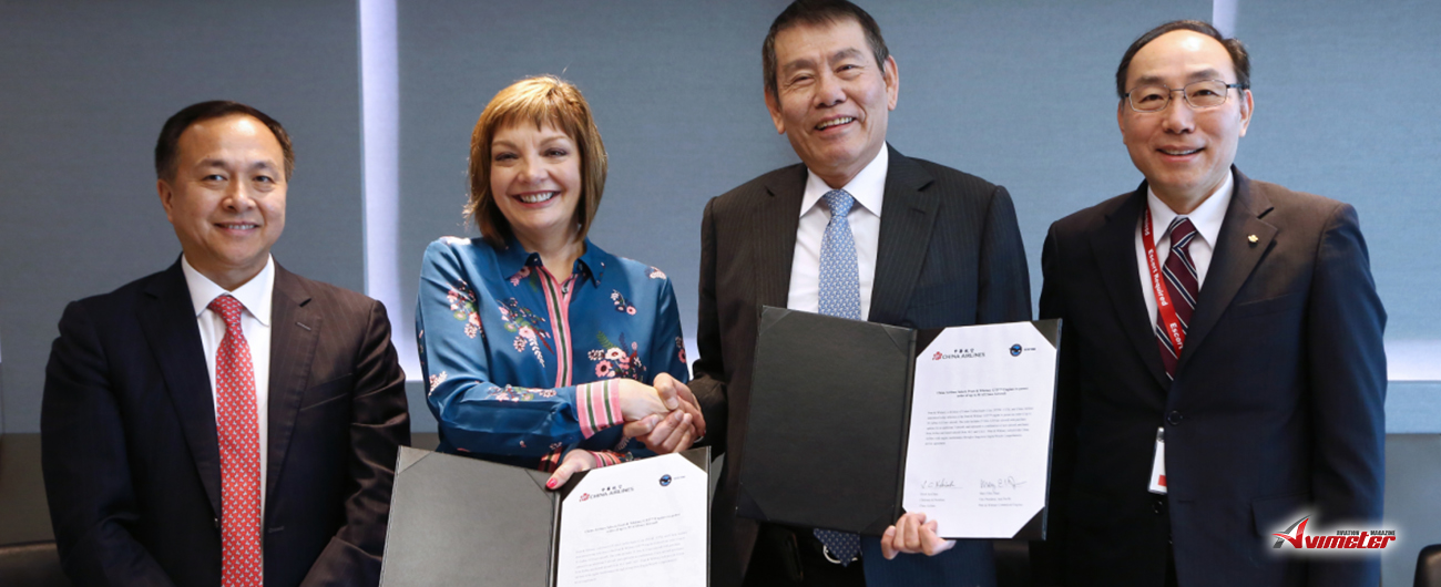 China Airlines Selects Pratt & Whitney GTF™ Engines to power order of up to 30 A321neo Aircraft
