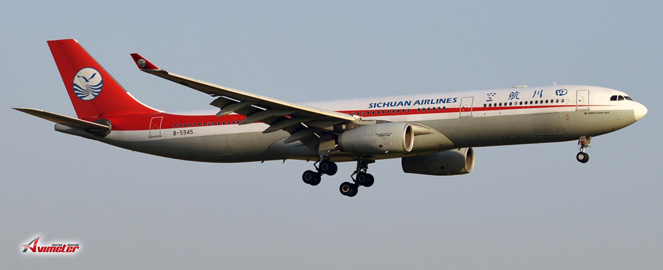 BOC Aviation Delivers First of Three Airbus A330 Freighter Aircraft To Sichuan Airlines