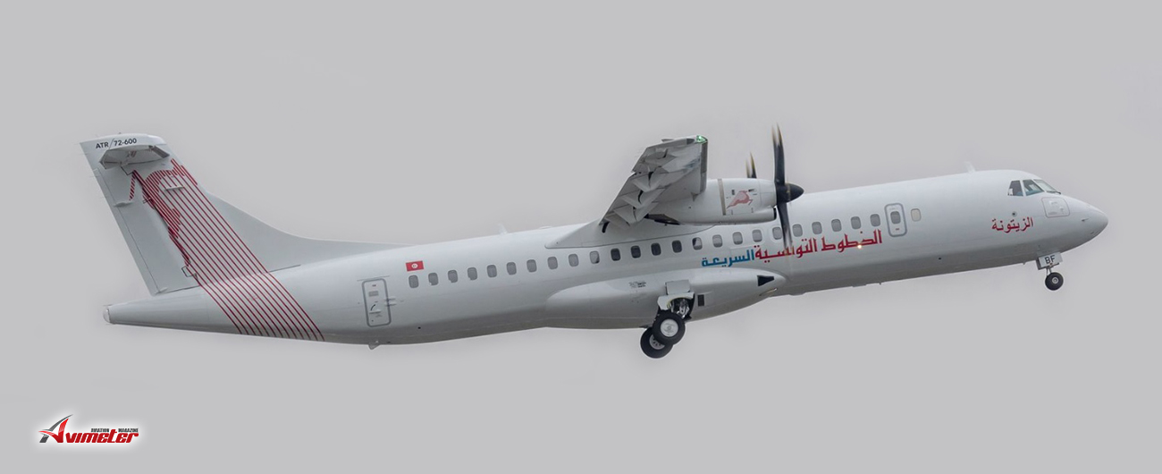 Tunisair Express Receives First ATR 72-600