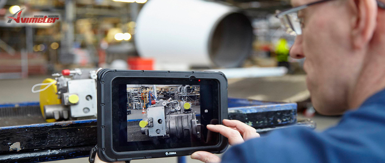 Lufthansa Technik Logistik Services digitizes material identification