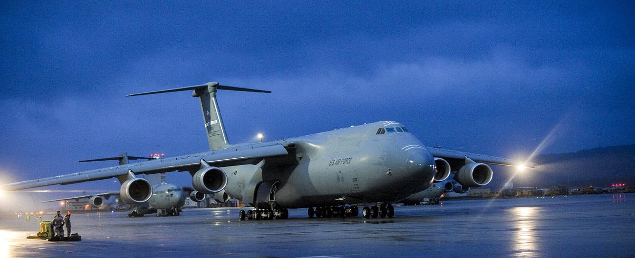 AMC commander requests maintenance assessment of all C-5s