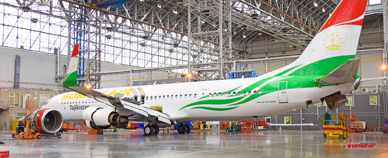 S7 Technics' Engineering centre assists Somon Air with aircraft re-registration