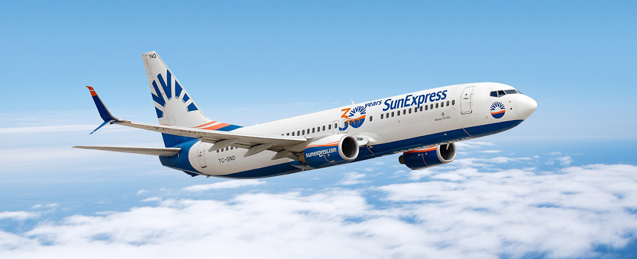 SunExpress launches its winter schedule early to allow its passengers more flexibility