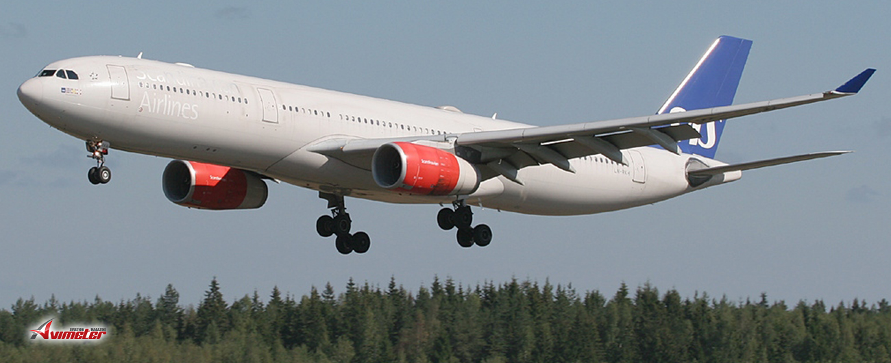 Jackson Square Aviation Ireland Announces Delivery Of A New Airbus A330-300 Aircraft To Scandinavian Airlines System