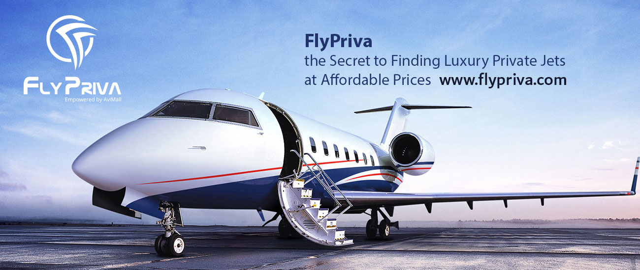 FlyPriva the Secret to Finding Luxury private jet charter at Affordable Prices