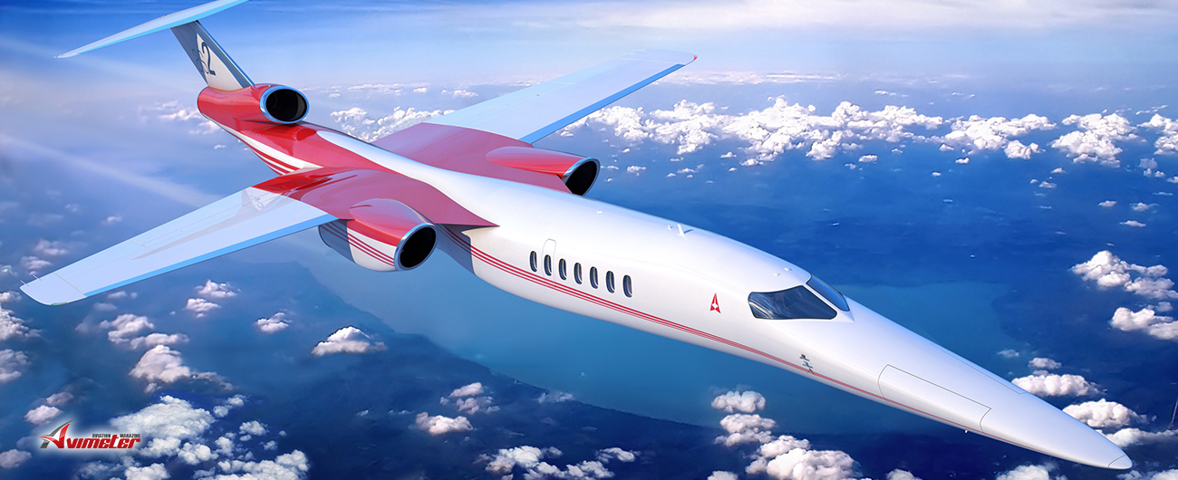 Aerion selects more suppliers for in-development supersonic business jet AS2
