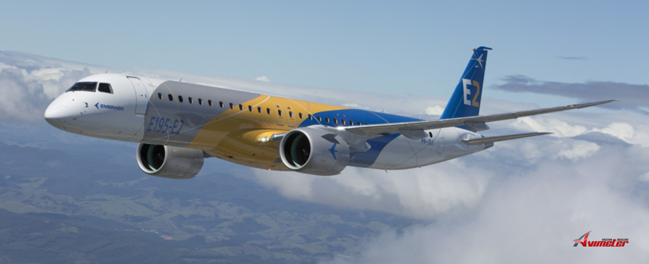 Pratt & Whitney Delivers GTF PW1900G Production Engines for Embraer E195-E2 Program