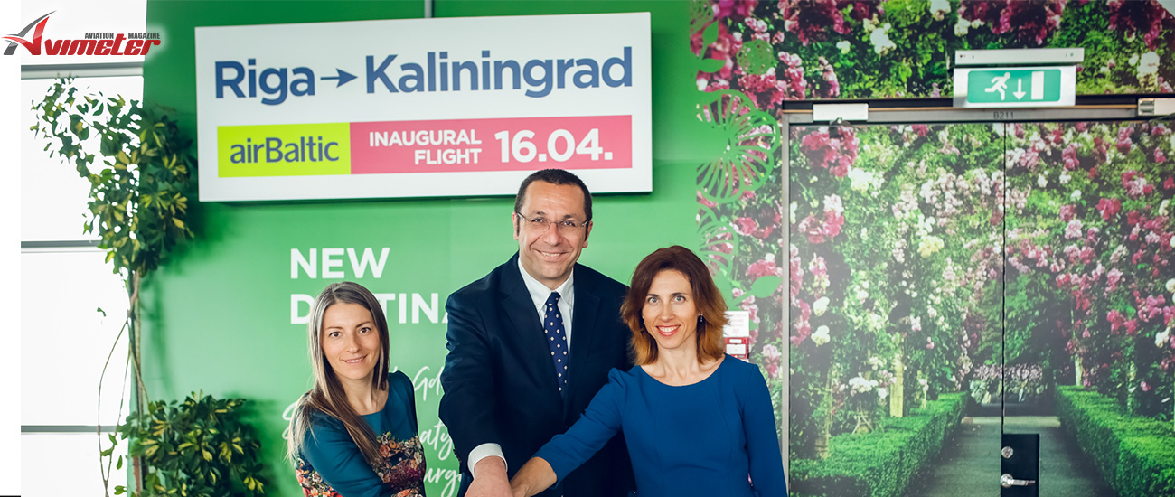 airBaltic Launches Flights from Riga to Kaliningrad