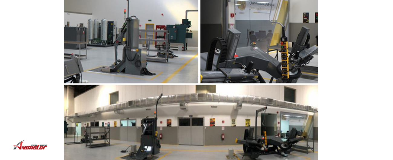 The DAES Group announces completion  of a wheel and brake facility for First Class Aviation Services