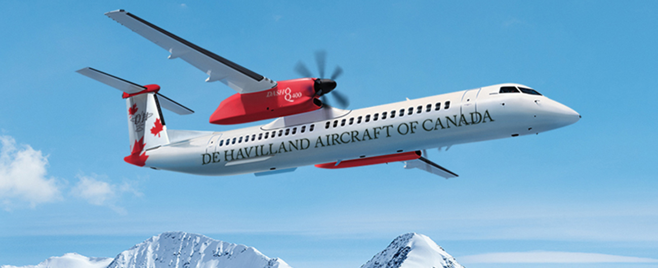 Nordic Aviation Capital to be De Havilland Canada's First Customer for Classic Overhead Bin Extension on Dash 8-400 Aircraft