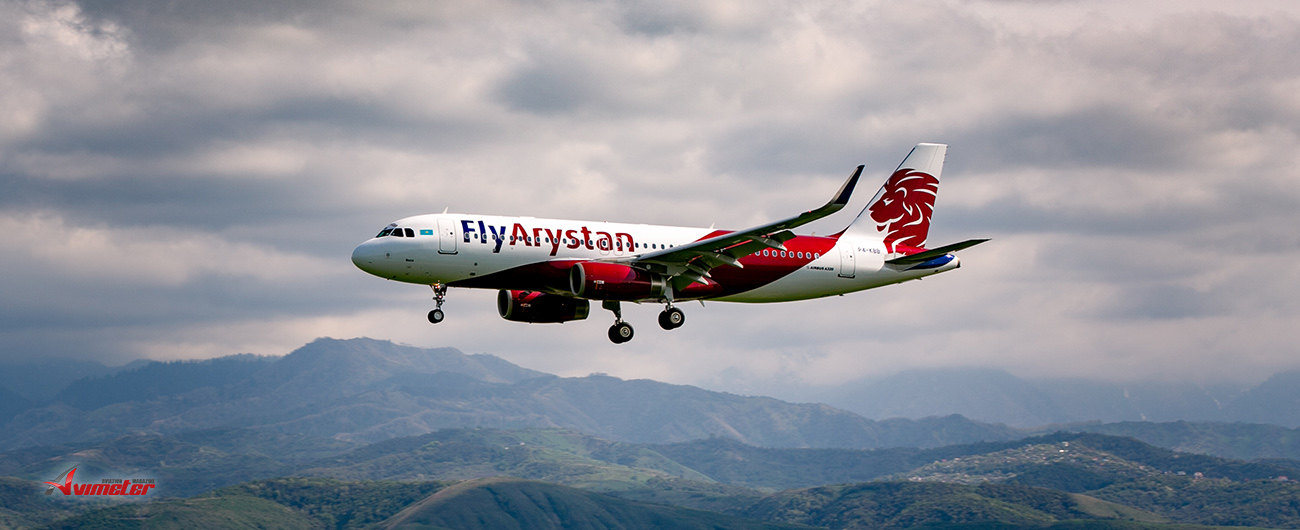 FlyArystan Sets Out Its Appeal To A New Generation Of Traveller As It Takes Off Today From Almaty, Kazakhstan