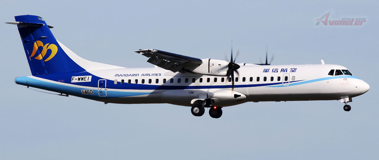 Avation: Second ATR72-600 Delivery To Mandarin Airlines