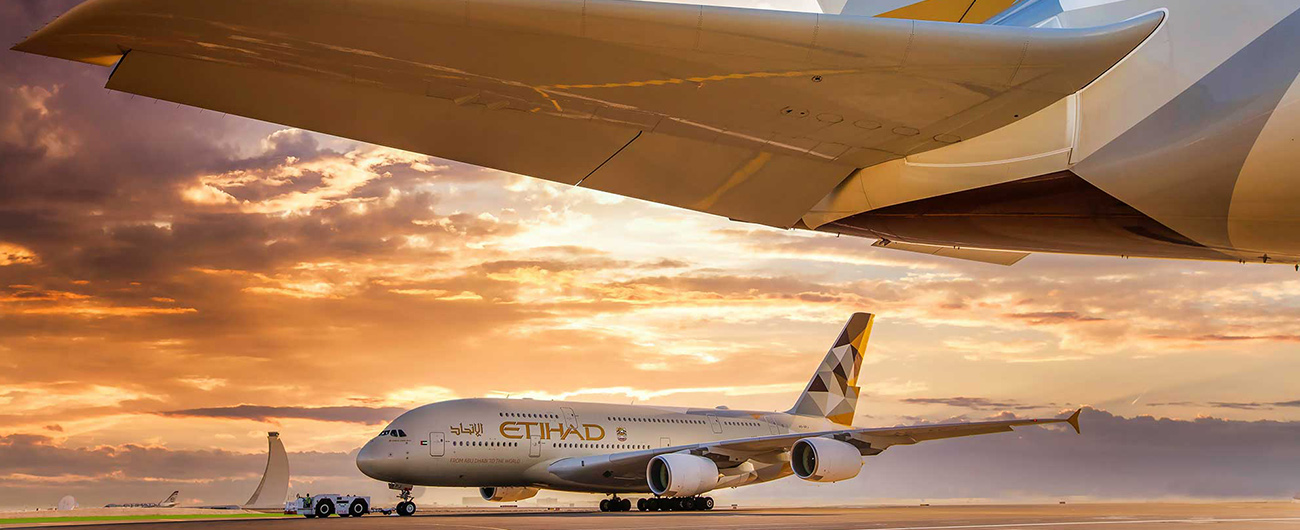 Etihad Airways to temporarily suspend all services to and from the UAE following government directive