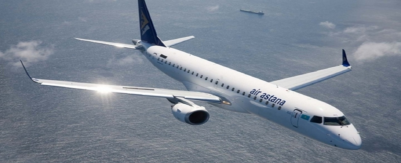 Air Astana Orders Five Embraer E190-E2s