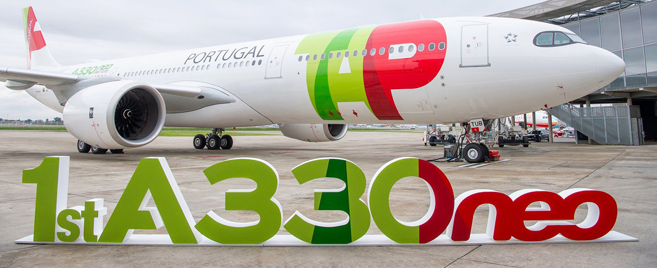 TAP receives two new Airbus A330neo aircraft on the same day