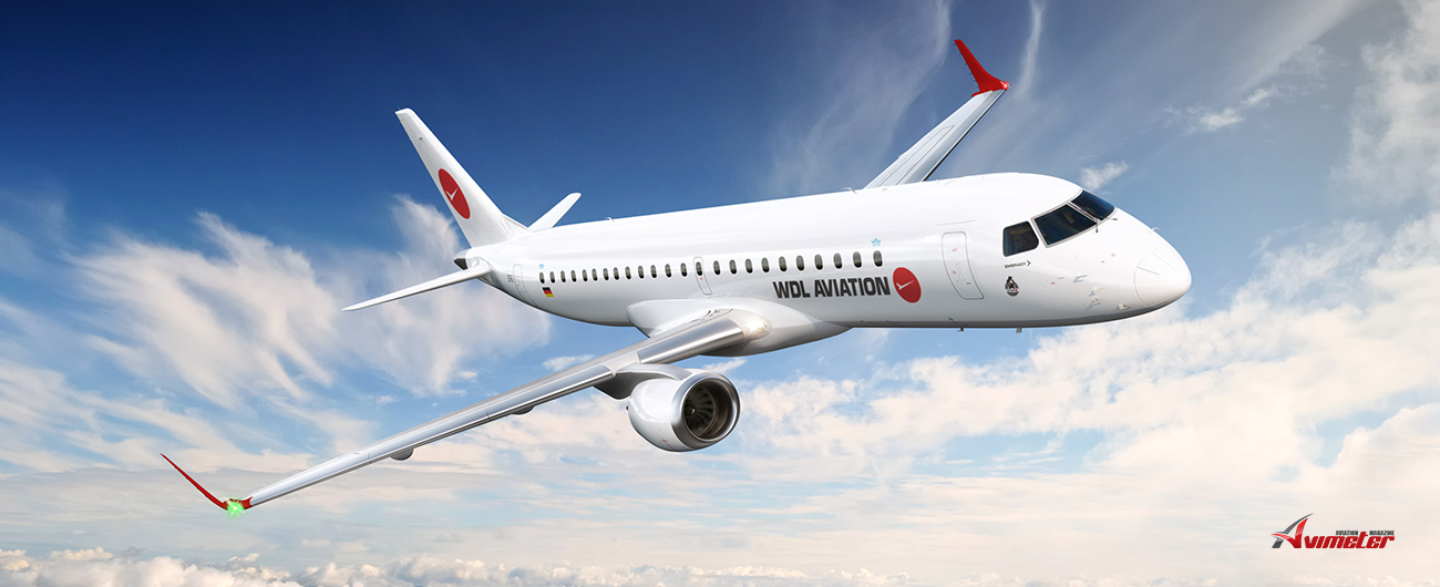Embraer Signs Pool Program Contract to Support Germany's WDL Aviation E190s fleet