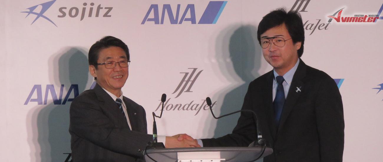 ANA HOLDINGS and Honda Aircraft Company Announce a Strategic Partnership to Expand the Business Jet Market