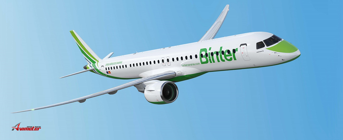 Embraer and Spain's Binter Sign Total Support Program for new E195-E2 fleet