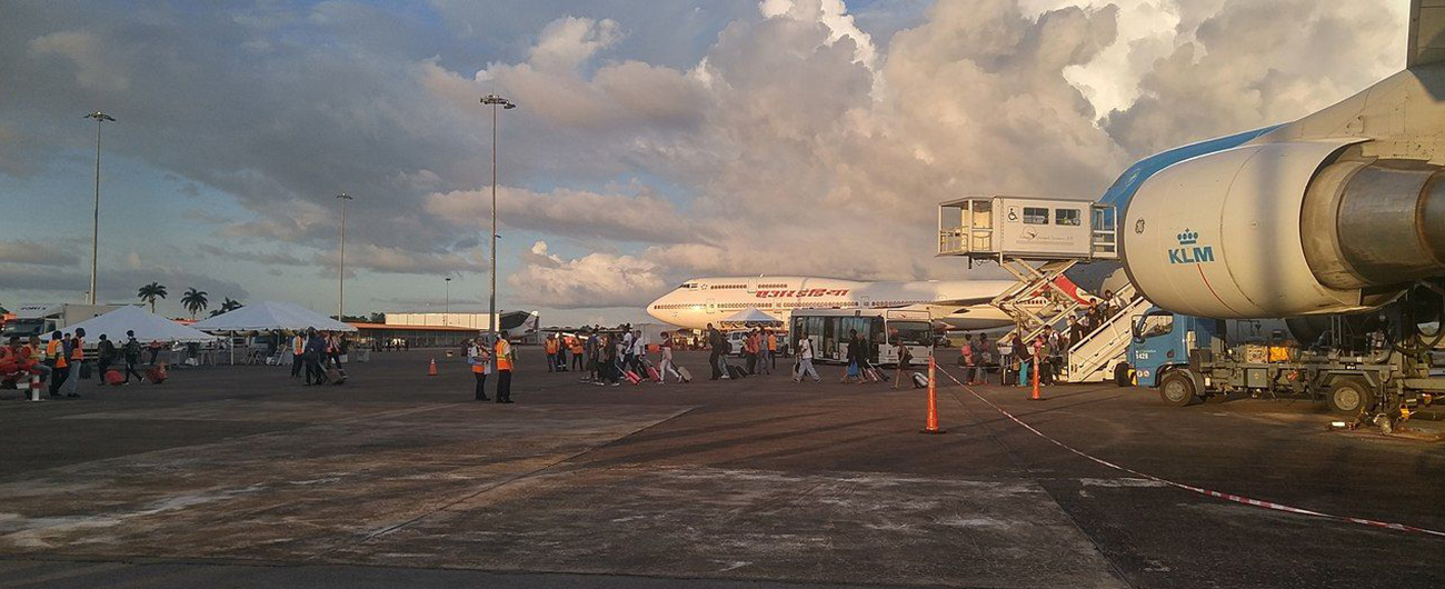 Suriname Closes The Johan Adolf Pengel International Airport From March 14-21, 2020