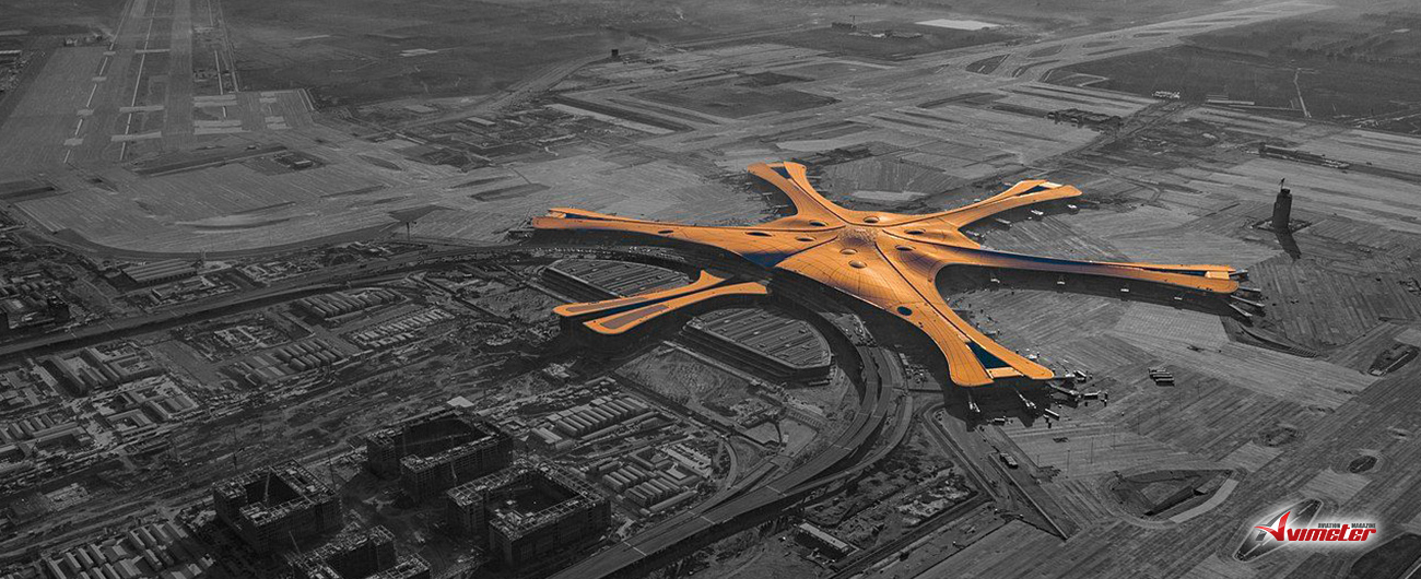 Ameco provides line maintenance services at Beijing Daxing International Airport