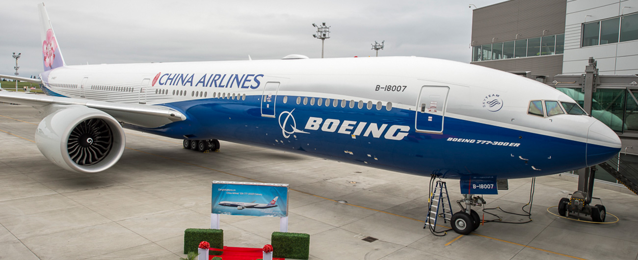 Boeing signs a deal with China Airlines for MRO