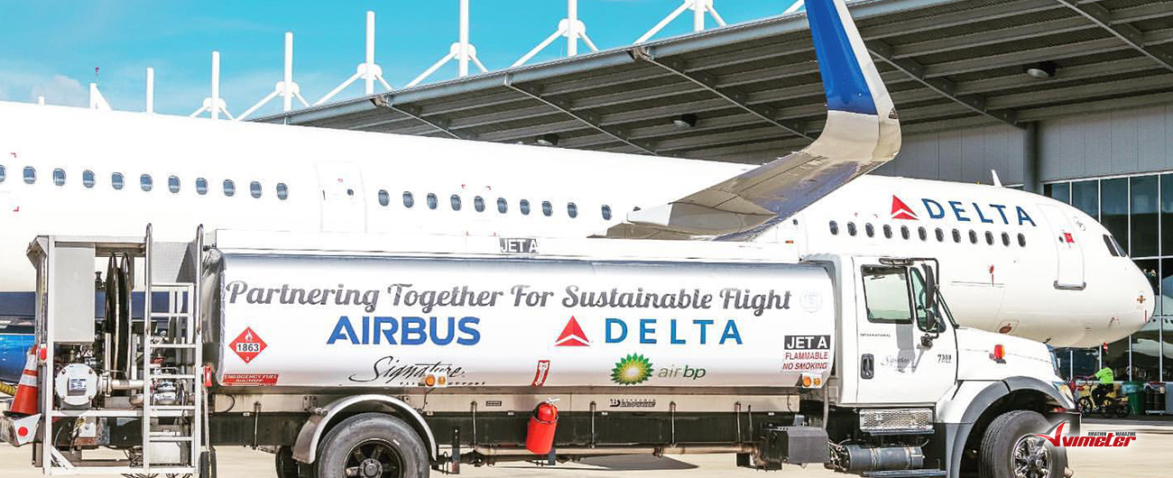 Airbus delivers Delta's 50th U.S.-produced A321 powered with sustainable jet fuel