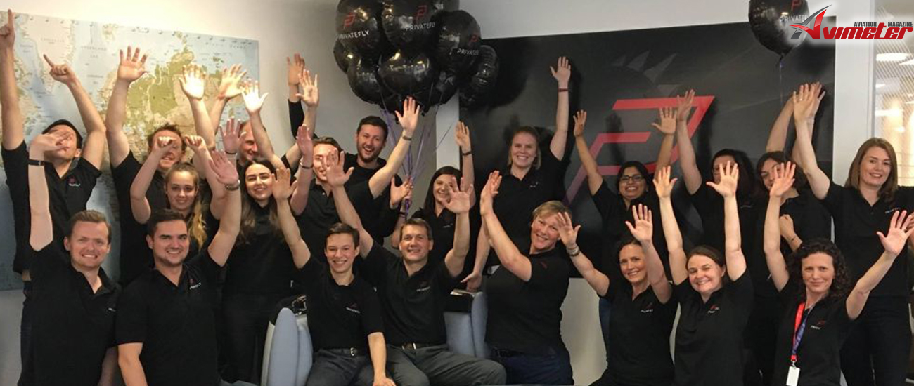 DOUBLE CELEBRATION AT PRIVATEFLY, AS THE TEAM MARKS 10th BIRTHDAY & SUNDAY TIMES EXPORT TRACK 100 RANKING