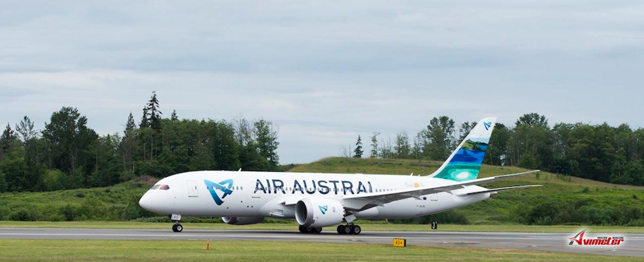 Air Austral immobilise dès ce jour son Boeing 787-8