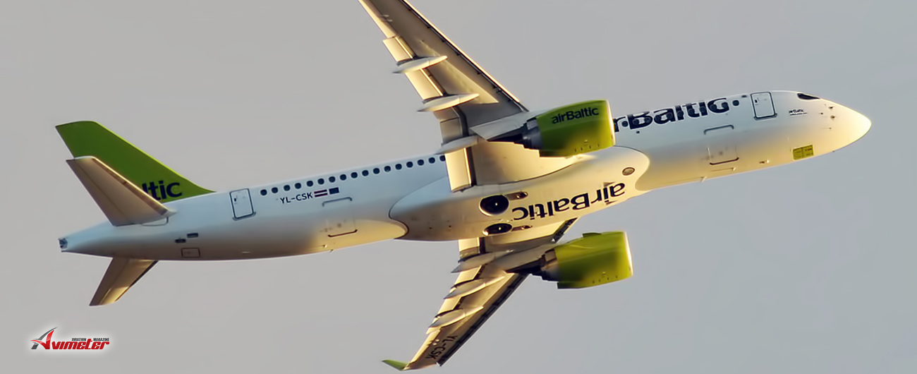 FPG Amentum and LHI arrange the acquisition of an Air Baltic A220-300