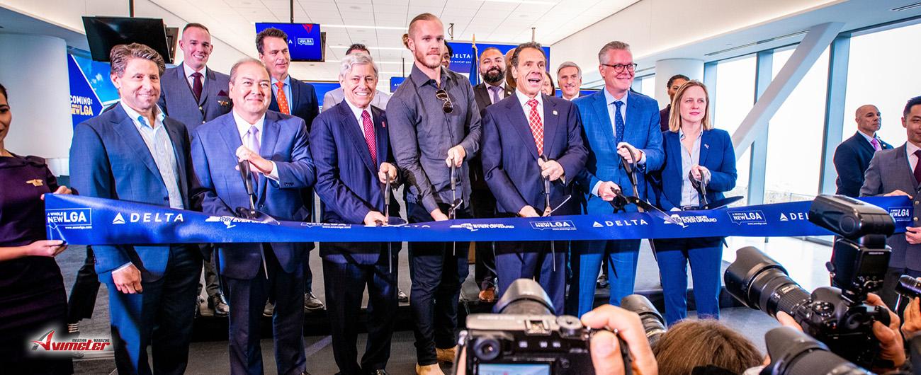 Delta's first new concourse at LaGuardia opens; a milestone in $8B airport rebuild