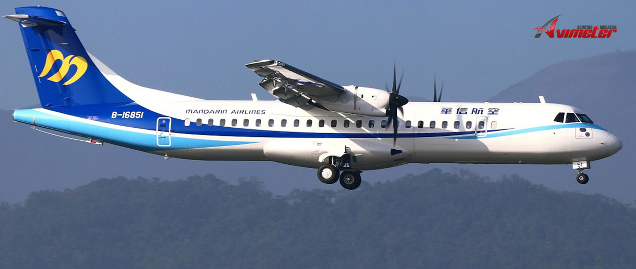 Avation: Third ATR 72-600 Delivery To Mandarin Airlines