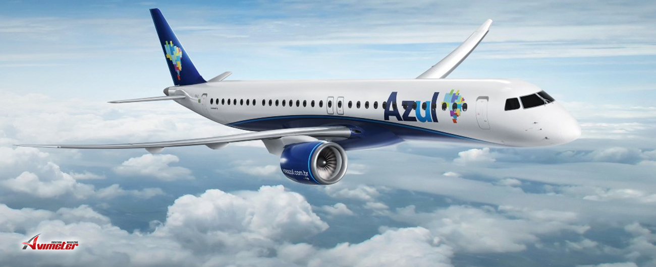 Embraer and Azul Sign Pool Program to Support New E195-E2 fleet