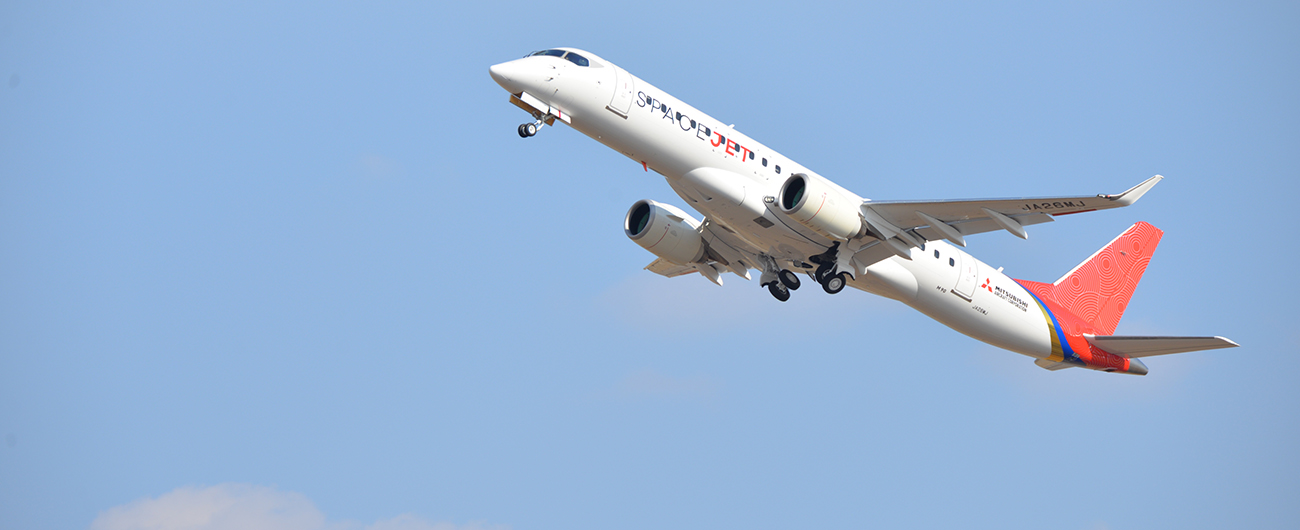 Mitsubishi Aircraft Makes Maiden Flight of Mitsubishi SpaceJet Flight Test Vehicle 10 (FTV10)
