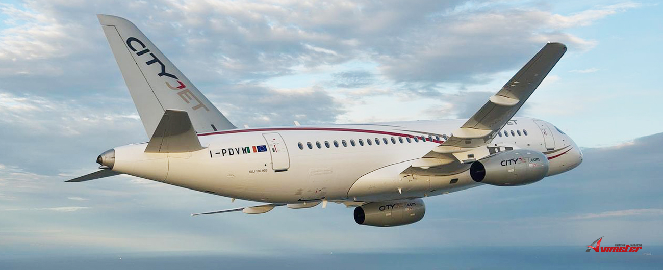 "Official commentary to the ""Vedomosti"" statement that CityJet returns SSJ100"