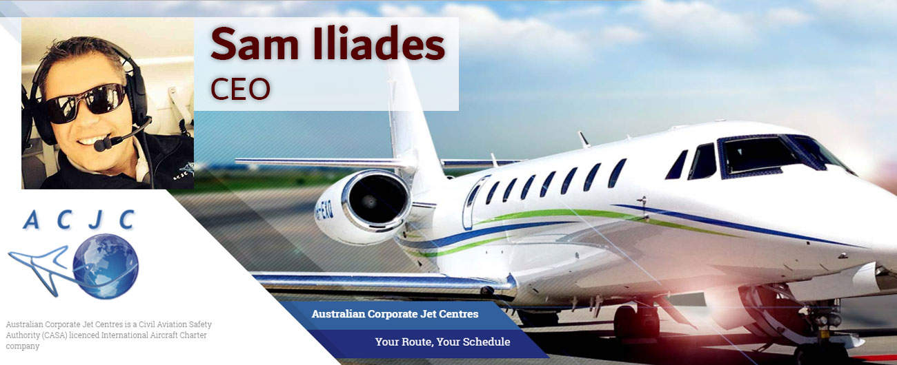 Interview with Sam Iliades - Australian Corporate Jet Centres