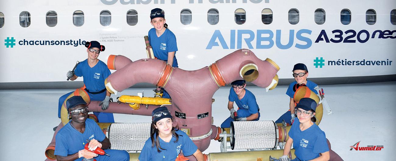 Portes Ouvertes : Le Lycée Airbus présente ses formations aux jeunes motivés par la filière aéronautique le 16 février à Toulouse