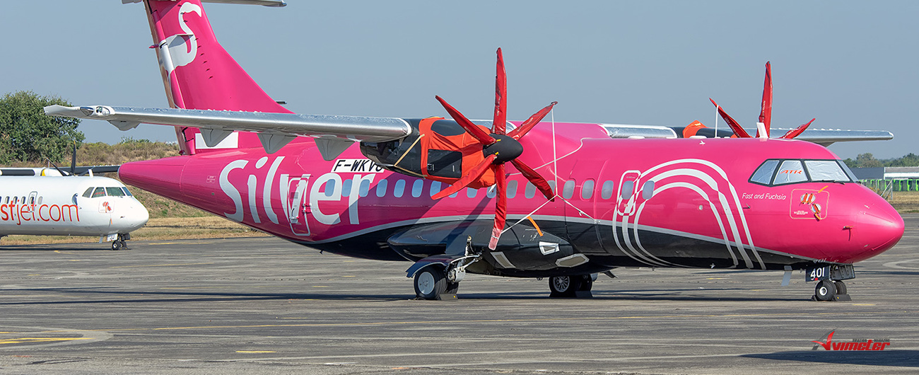 Nordic Aviation Capital congratulates Silver Airways on first ATR-600 series flight in the U.S.