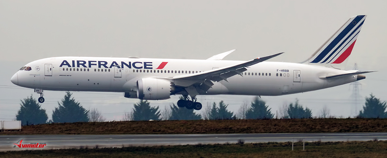 Air France And Its Two New Boeing 787s