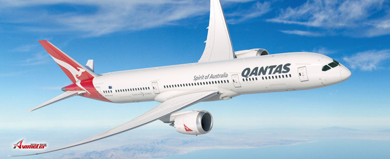 Qantas Dreamliner Sets Sights On Santiago