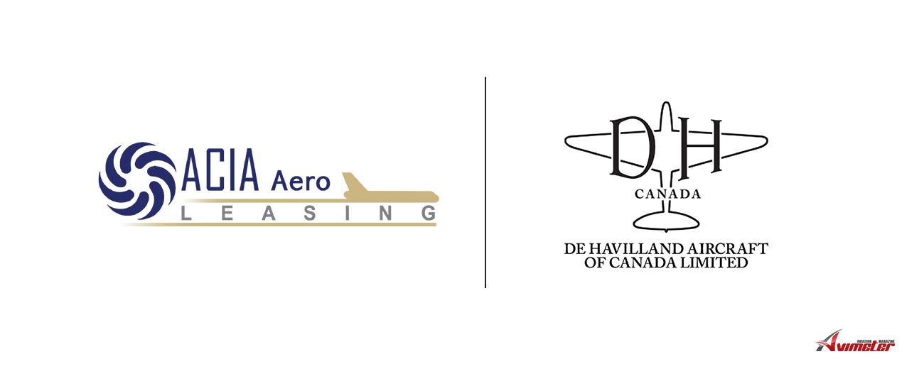 ACIA Aero Capital Signs Purchase Agreement with De Havilland Canada for Three Dash 8-400 Aircraft