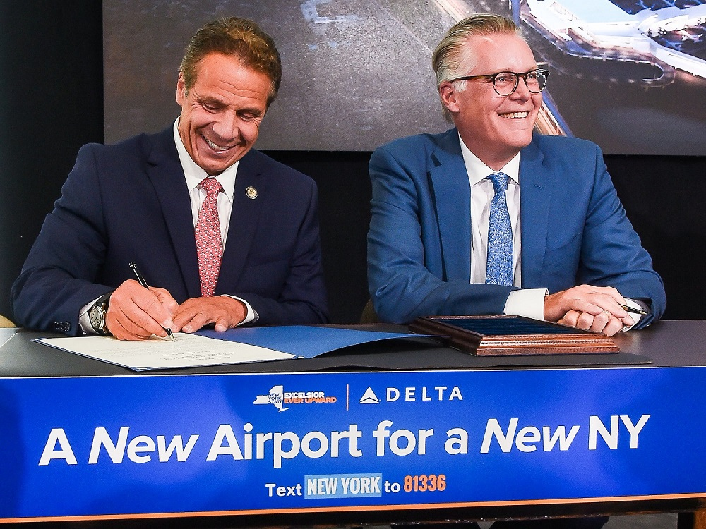 Delta is getting a new $4 billion terminal LaGuardia Airport