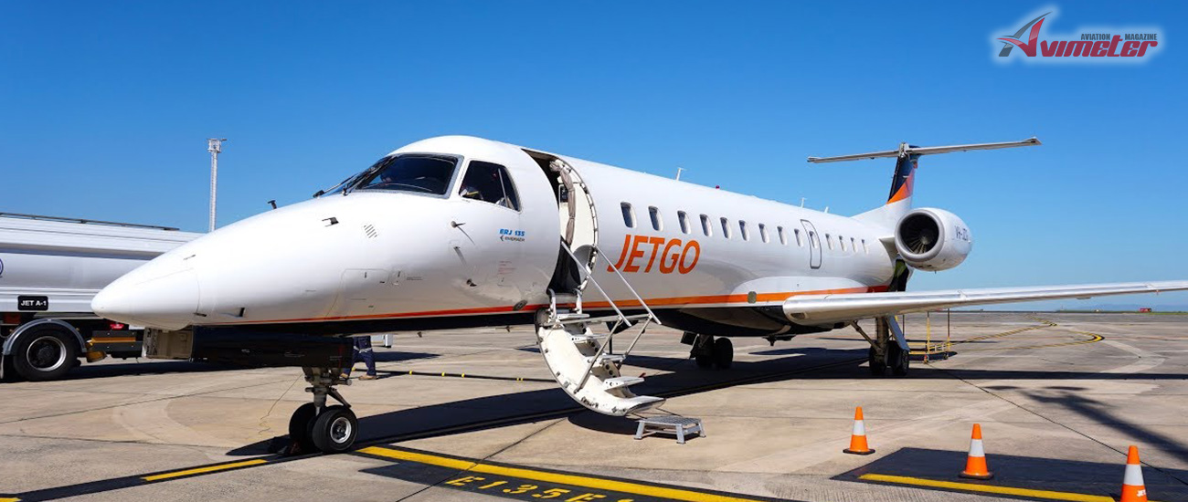 Skyworld Aviation is selected to assist in marketing two ex-Jetgo EMB 135's