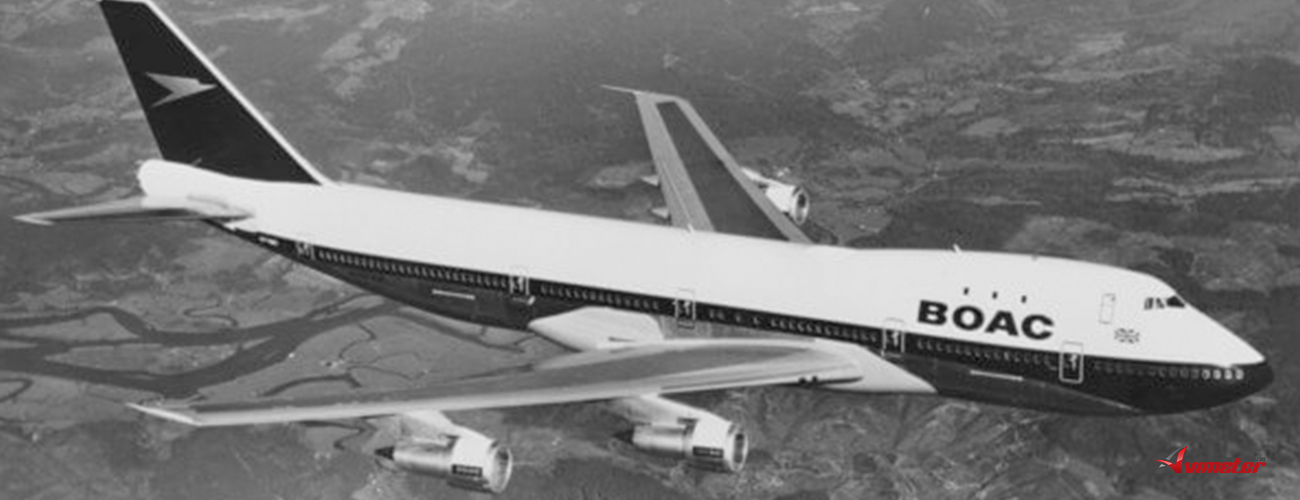 "British Airways reveals ""iconic"" BOAC Boeing 747 design"