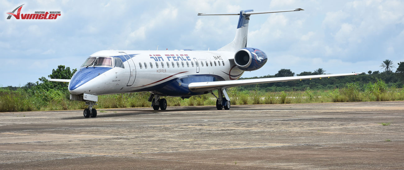 Embraer and Air Peace Sign Multi-Year Pool Program Agreement for six ERJ-145 jets