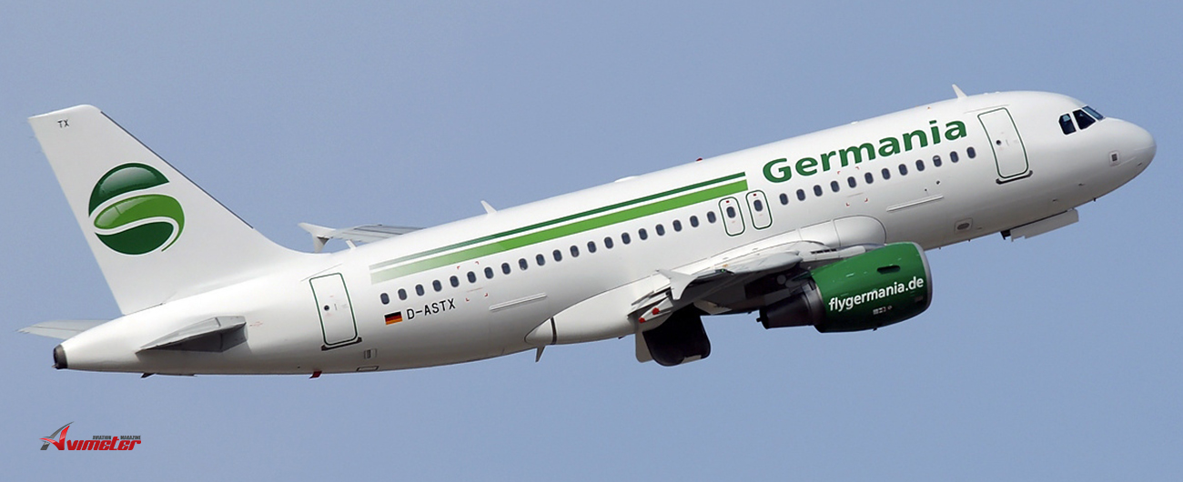 Germania Fluggesellschaft mbH, Germania Technik Brandenburg GmbH, and Germania Flugdienste GmbH File for Insolvency, Flight Operations Terminated